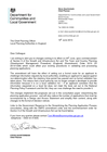 Letter Template Planning Permission. Letter about changes to the validation of planning applications  19 June 2013 Planning guidance letters chief officers GOV UK