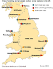 Map Of Uk Power Stations.Map Of Nuclear Power Stations In The Uk Gov Uk
