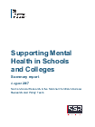 Supporting mental health in schools and colleges - GOV UK