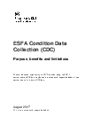 Condition Data Collection programme: information and