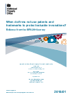 Research and analysis: Survey of innovation and patent use