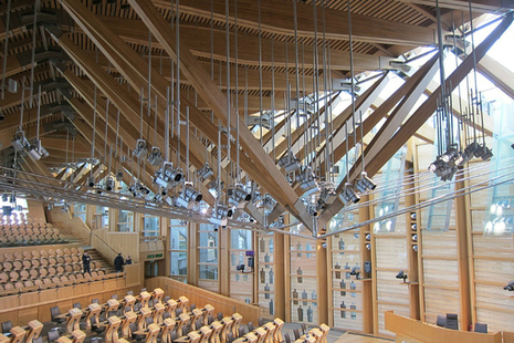 scottish parliament interior