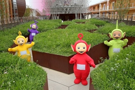 Teletubbies at Milan Expo 2015