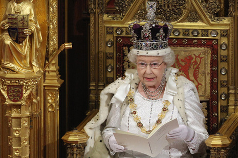 Queen's Speech. Credit: Press Association