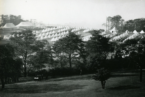 Manchester Regiment Heaton Park camp