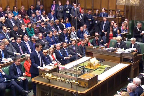 Chancellor George Osborne delivers the Budget speech
