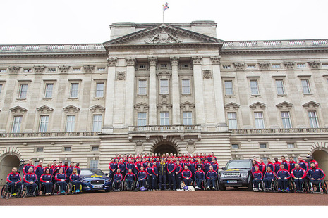 Prince Harry, patron of the Invictus Games Foundation, unveiled the team at Buckingham Palace