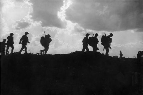 Third Battle of Ypres - photograph of soldiers
