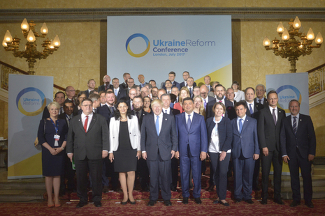 Ukraine Reform Conference group photo