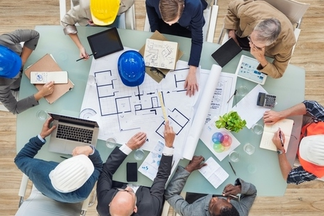 Picture of people working