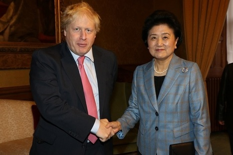 Foreign Secretary and Mme Liu