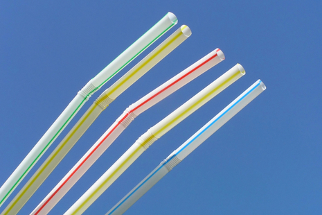 plastic straws (photo credit: Getty Images)