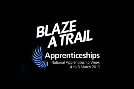 National Apprenticeship Week 2019 theme and logo