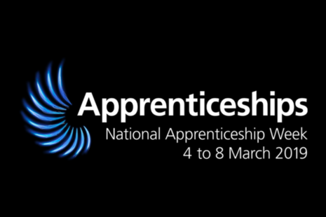 Image of the National Apprenticeship Week 2019 logo.