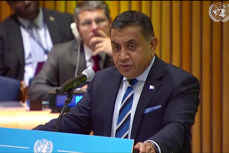 Minister Lord (Tariq) Ahmad of Wimbledon spoke at the United Nations General Assembly (UNGA) Sustainable Development Goals (SDG) summit.