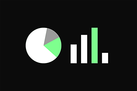 Stylised bar chart with no detail shown