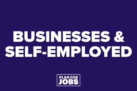 Plan for Jobs Businesses