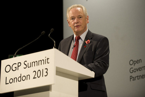Francis Maude at Open Government Partnership 2013