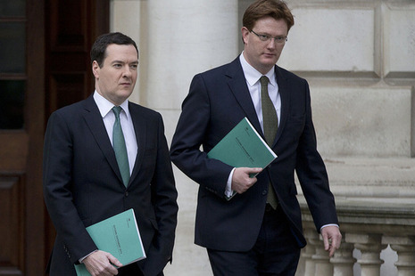 Chancellor and Danny Alexander - Autumn statement day