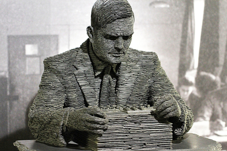 Turing statue at Bletchley Park; image by Duane Wessels