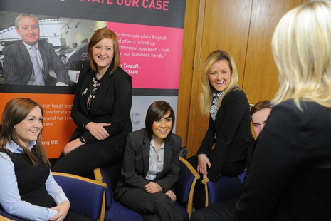 Apprentices at Gordons Yorkshire law firm