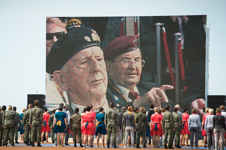 UK military honour D-Day 70