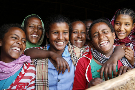Girls in Ethiopia. Picture: Jessica Lea/DFID