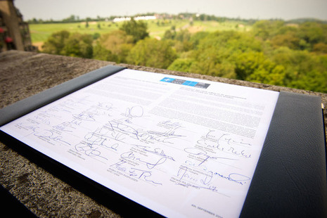 Signed armed forces declaration