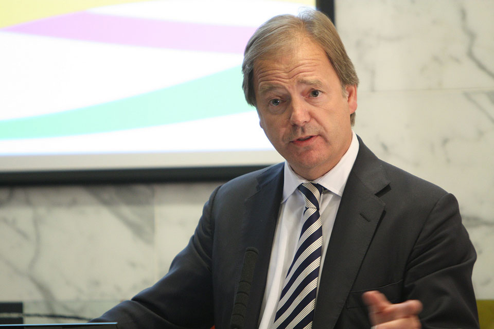 Hugo Swire MP, Minister of State at the Foreign & Commonwealth Office