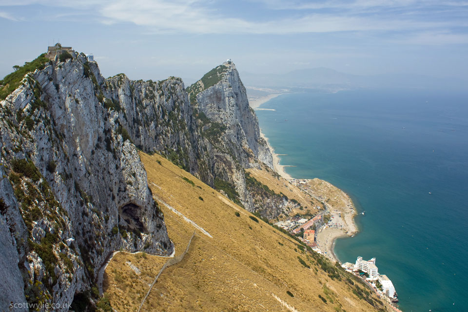 Photo of Gibraltar by Scott Wylie (flickr)