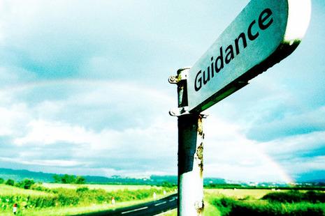 Guidance post