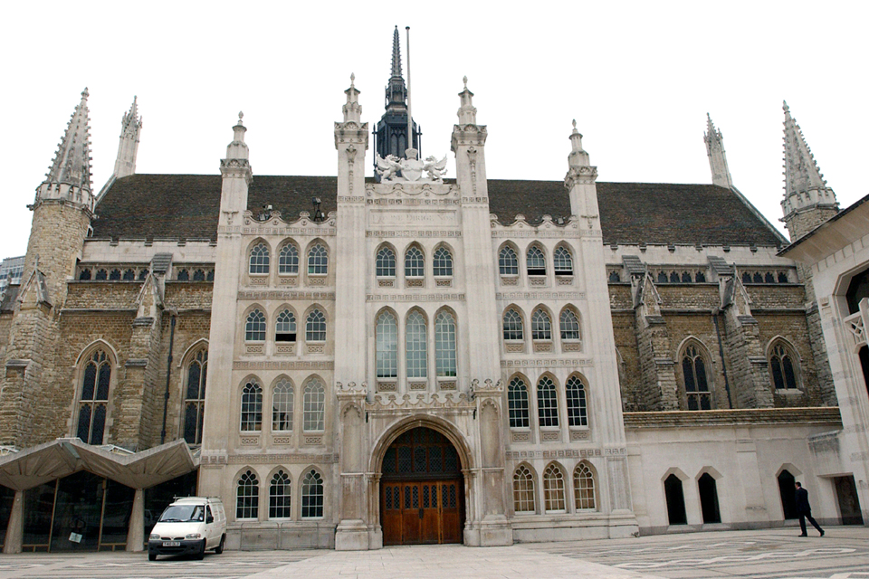 London Guildhall exterior