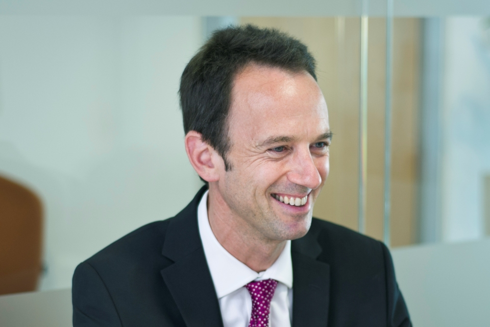Alex Chisholm, Chief Executive of the Competition and Markets Authority