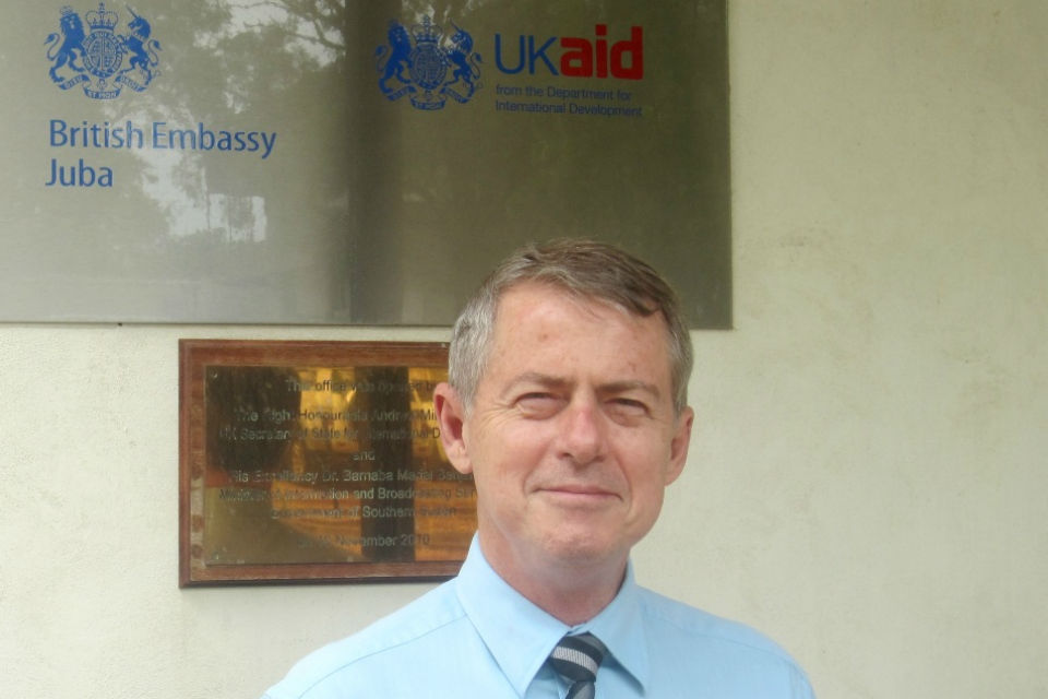 British Ambassador to South Sudan