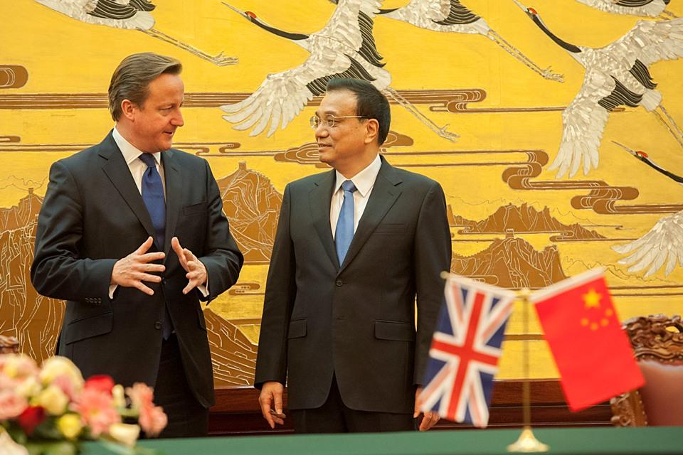英国首相致辞:英中长期友好关系