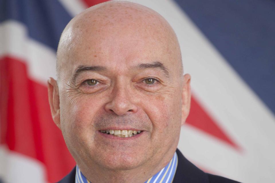 British High Commissioner Robert W Gibson