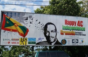 Wave Knight joins Grenada for 40th Independence Celebrations