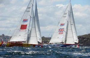 Sailing to success in the GREAT Britain yacht