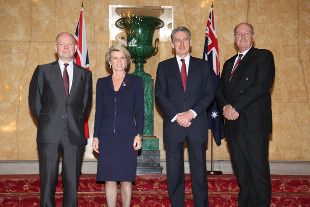 UK and Australian Foreign and Defence Ministers meeting