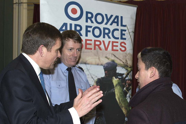 Royal Air Force reserves return to Wales
