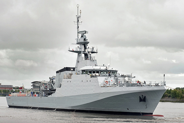 20 million contract for new Royal Navy ships
