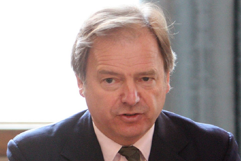 Foreign Office Minister Hugo Swire: