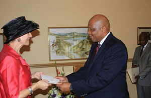 Judith and Lesotho President