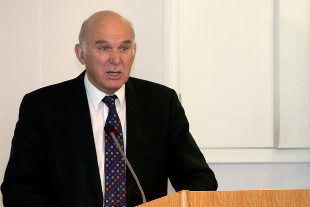 Vince Cable Business Secretary: image from BIS Flickr