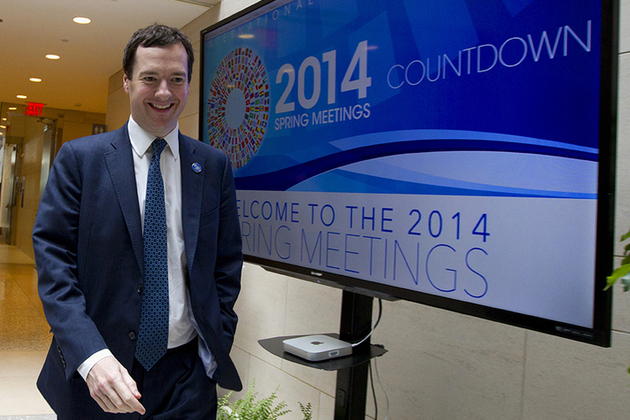 Chancellor at IMF spring meetings in Washington