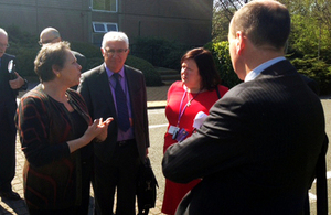 Baroness Kramer met with representatives from D2N2 in Nottingham