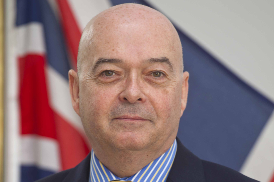 High Commissioner Robert W Gibson