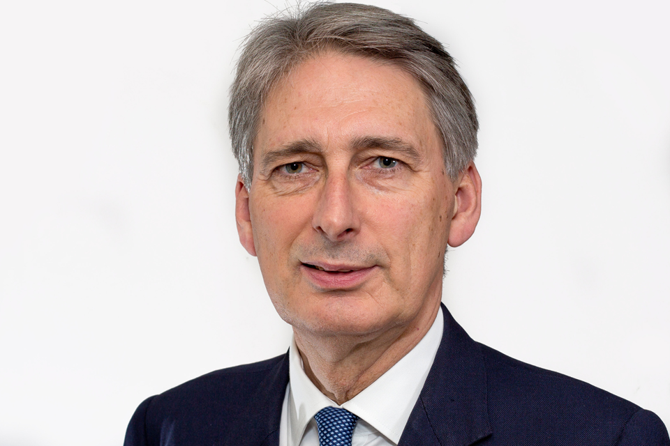 Speech by Philip Hammond, Secretary of State for Defence.