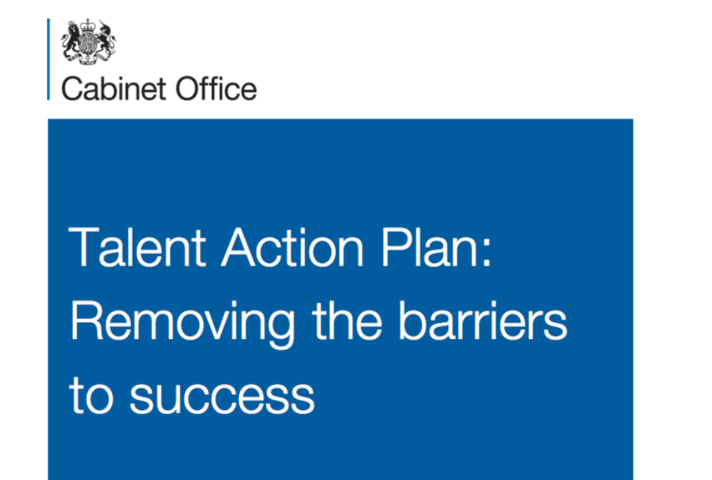Cover of the Talent Action Plan