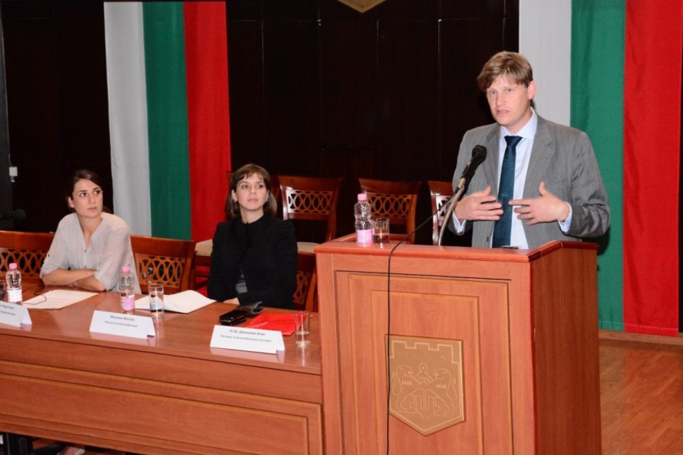HMA Jonathan Allen delivered a speech about the British and Bulgarian foreign policy in a less predictable neighbourhood
